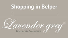 shopping in Belper at Lavender Grey